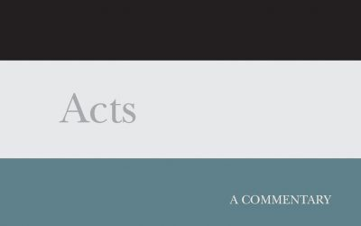 Acts – A Commentary (The New Testament Library)