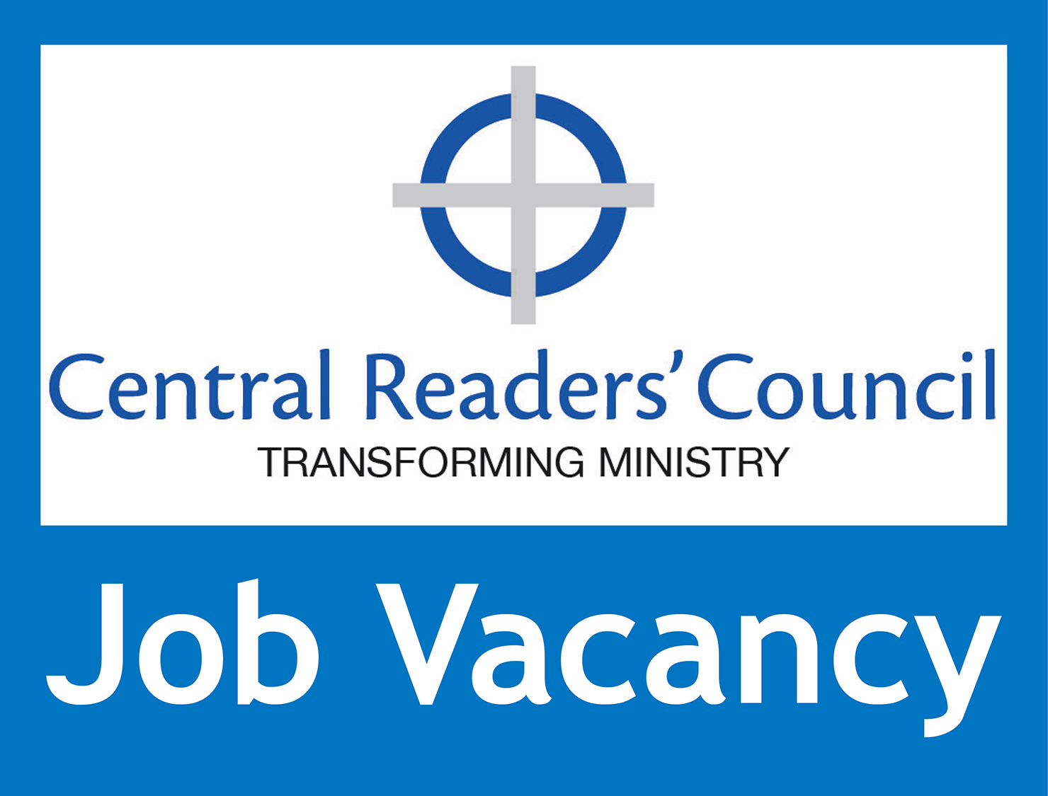 New role – CRC is looking for an assistant to help the Secretary with routine administration.