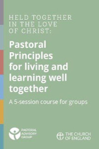 Pastoral Principles for living and learning well together